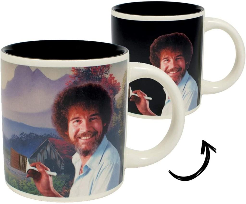 Bob Ross Heat Changing Funny Mug