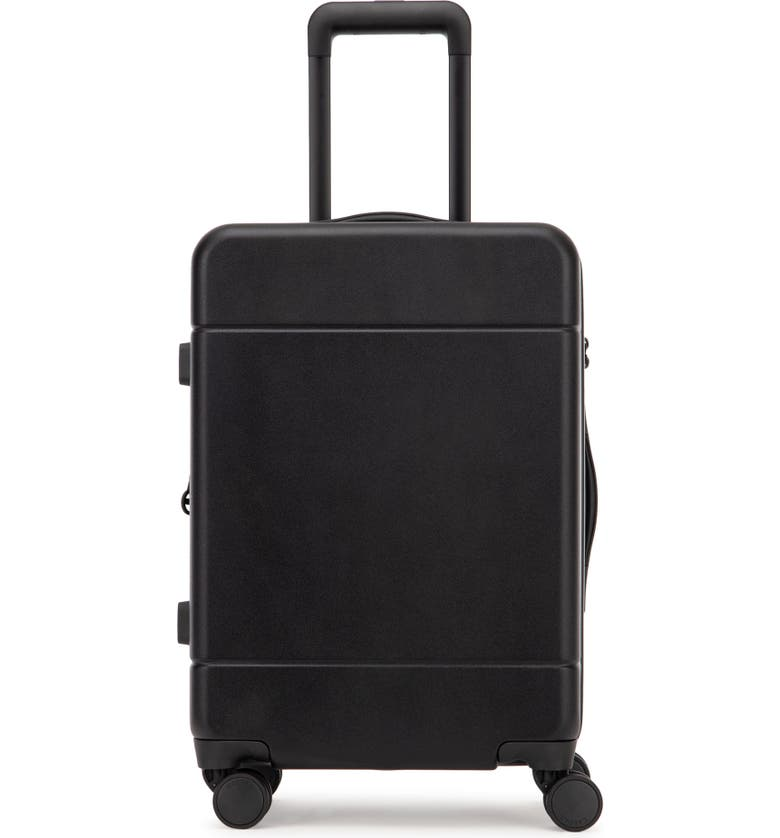 Black CALPAK Hue 22-Inch Expandable Carry-On Rolling Suitcase
