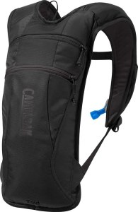 CamelBak hydration backpack, exercising outdoors in the winter