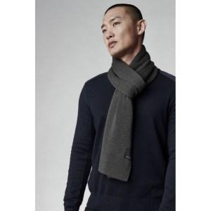 canada goose classic merino scarf, best men's scarves