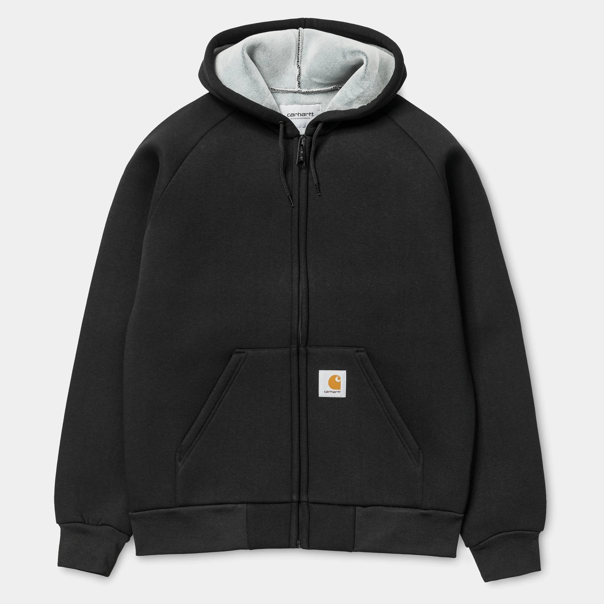 Carhartt WIP Car Lux Hooded Jacket in black