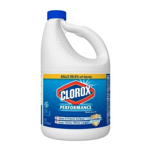 Clorox HE performance bleach, how to clean your face mask