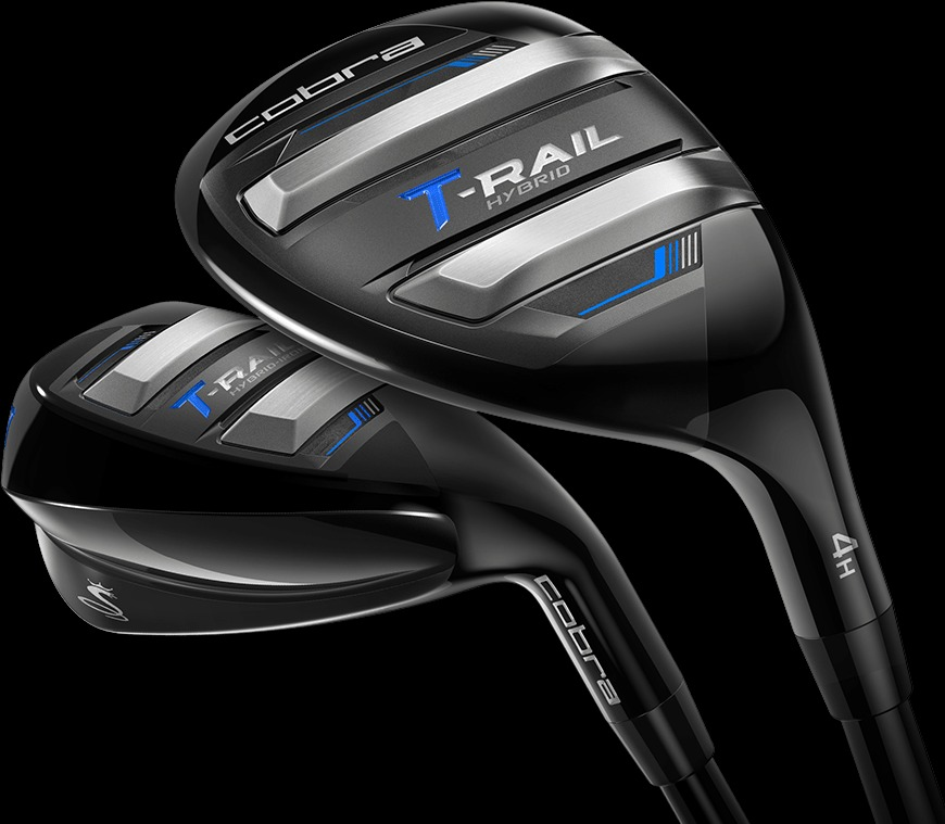 Cobra Men's T-RAIL Graphite 7-piece Combo Set, Best Golf Clubs for Beginners