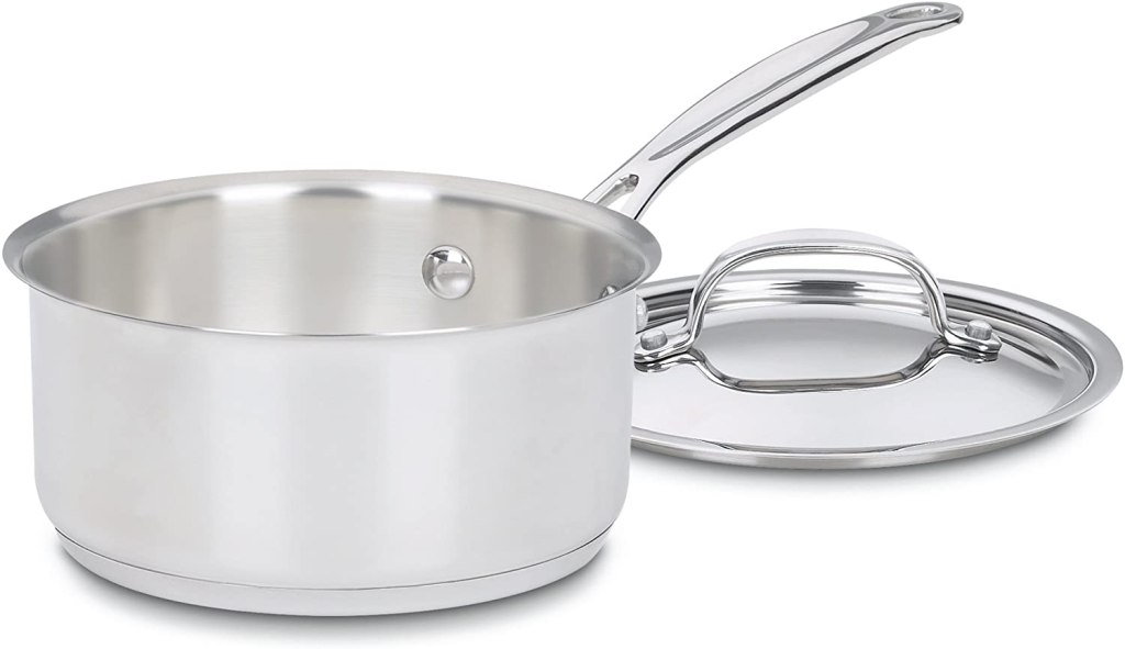 Cuisinart 719-16 Chef's Stainless Steel Saucepan, best stainless steel cookware