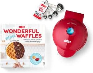 mini waffle maker dash