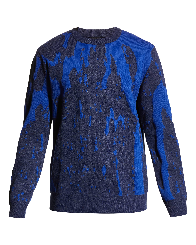 Diesel K-Tennessee Patterned Sweater, best mens sweaters