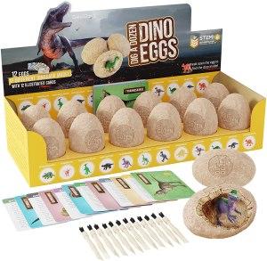 Dan&Darci Dig a Dozen Dino Eggs Dig Kit