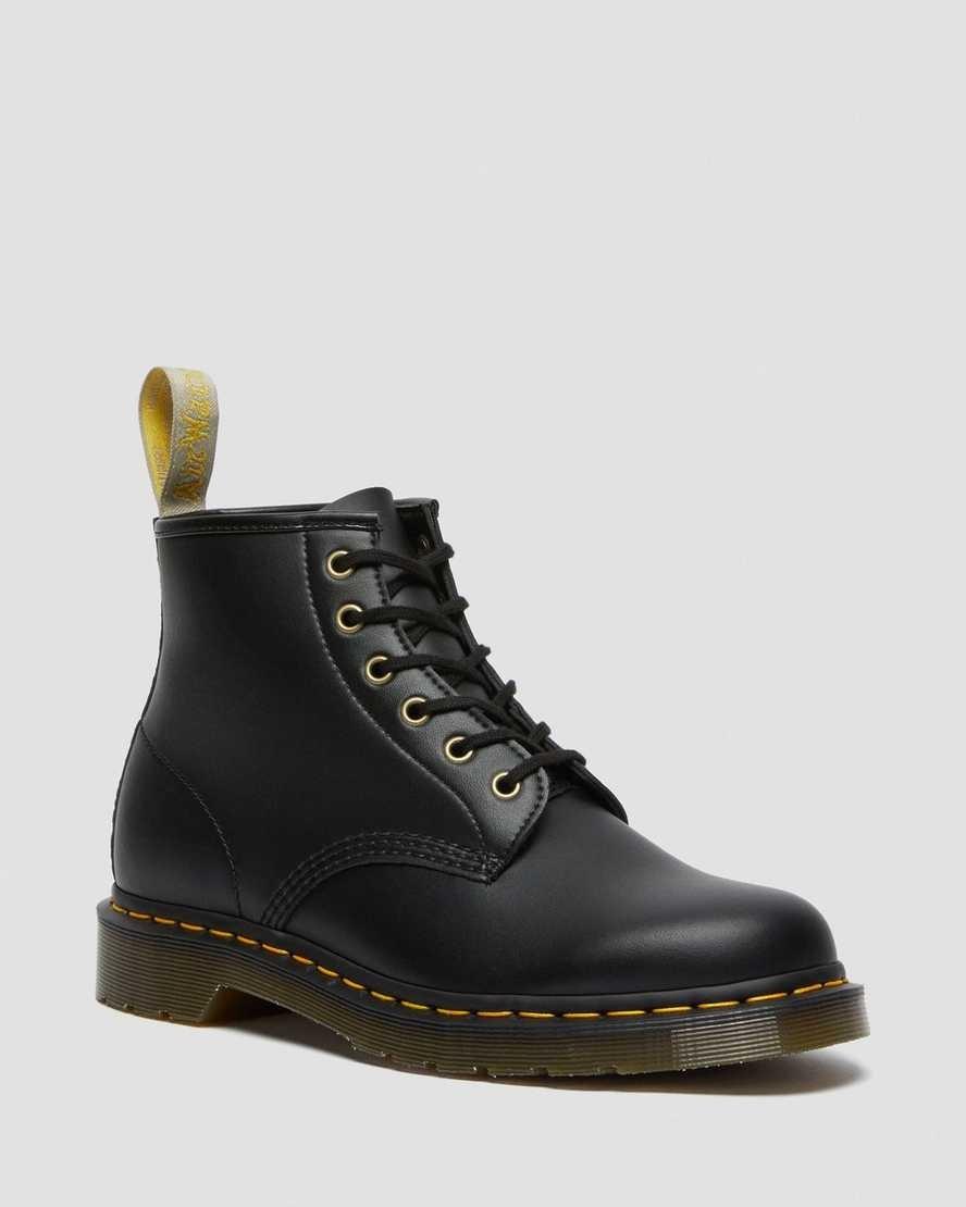 Dr Martens Vegan 101 black Felix ankle boot