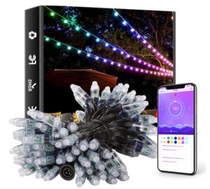 Elight Outdoor String Lights Smart Outdoor Lighting