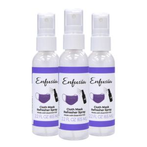 Enfusia cloth mask refresher spray, how to clean your face mask