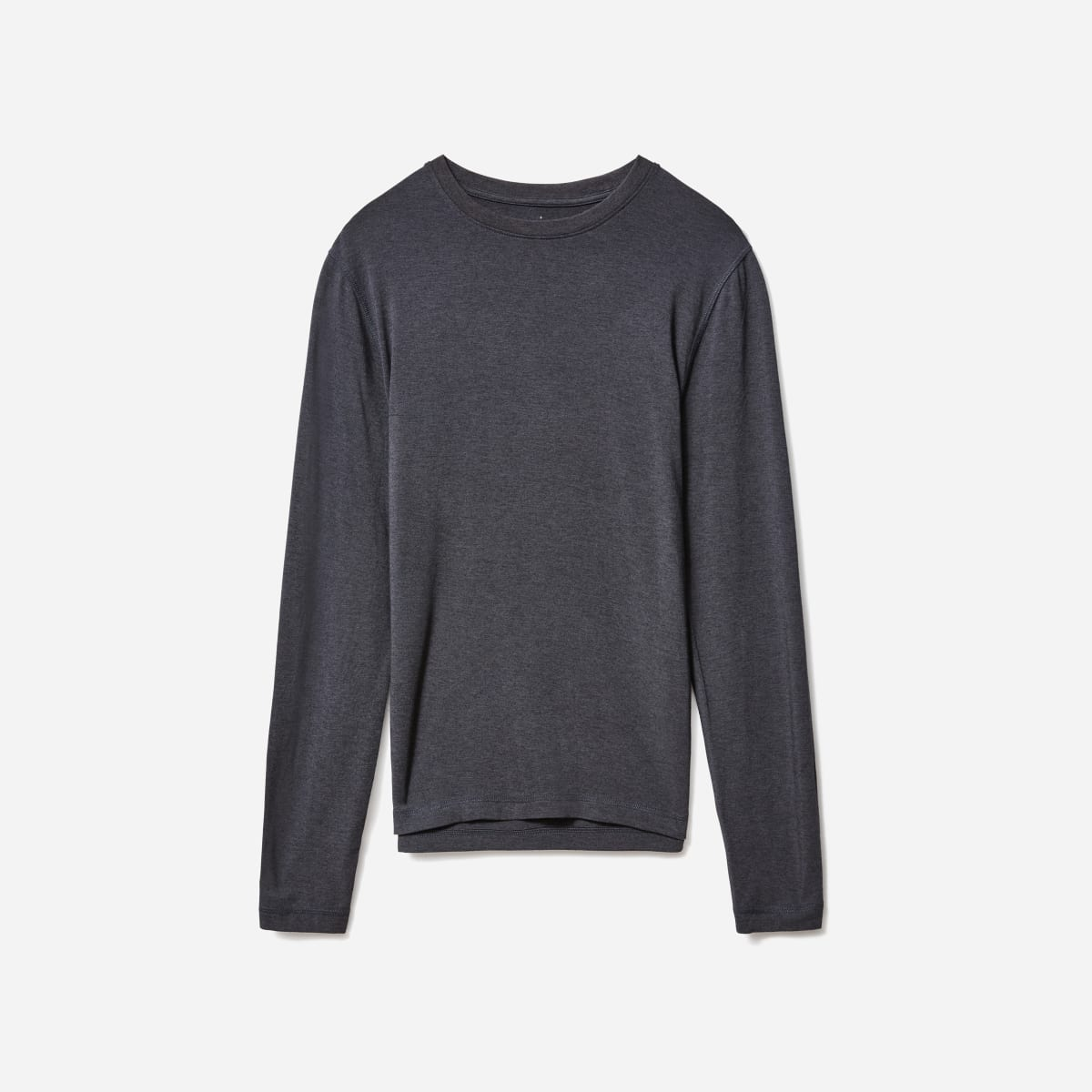 Everlane The ThermoStat Base Layer Shirt in charcoal