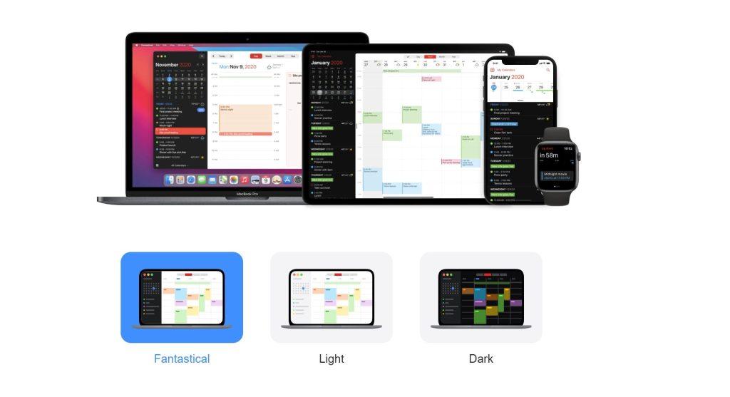 Fantastical -best calendar apps for 2021