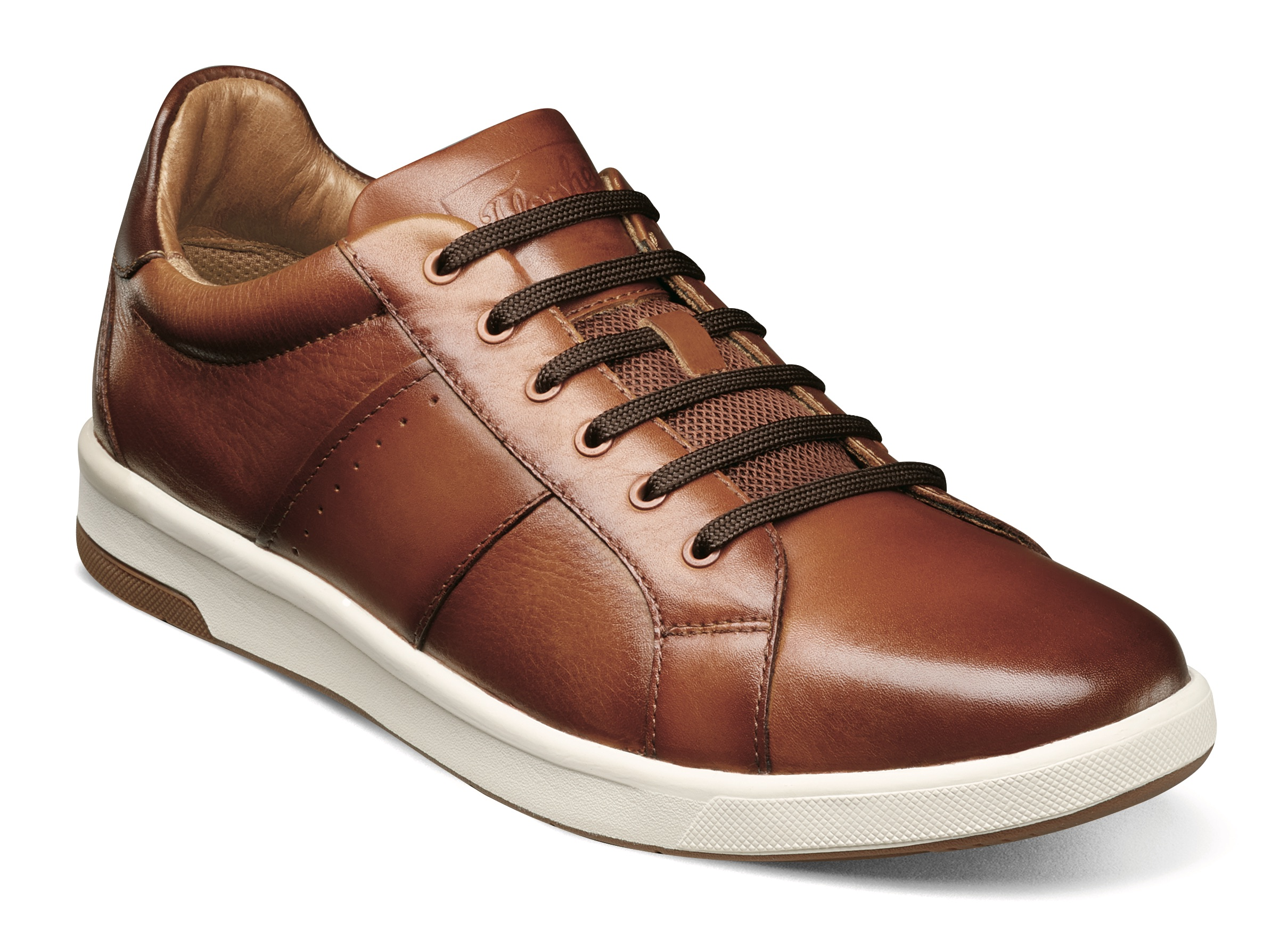 Florsheim-Crossover-Lace-Toe-Sneaker in brown