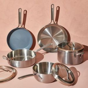 stainless steel cookware five two essential cookware