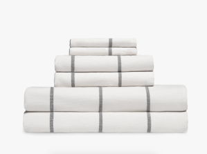 fouta stripe towels parachute