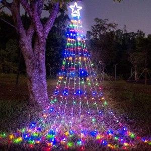 funiao christmas outdoor star lights