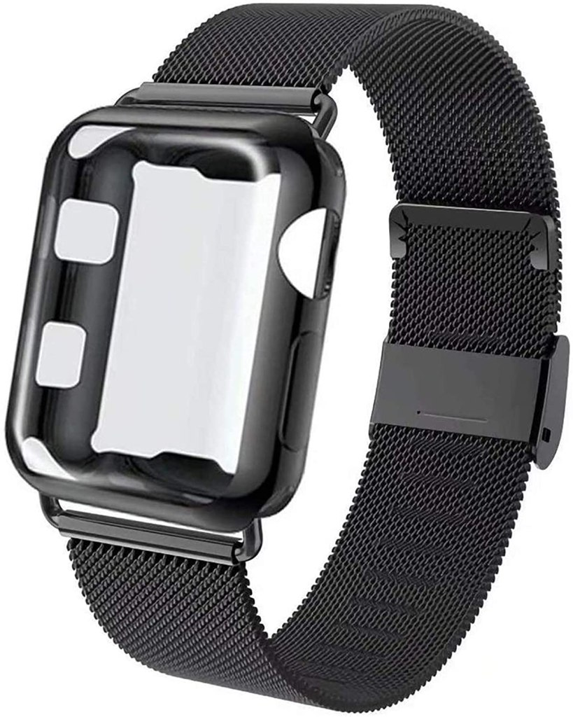 GBPOOT Compatible Strap and Case for Apple Watch
