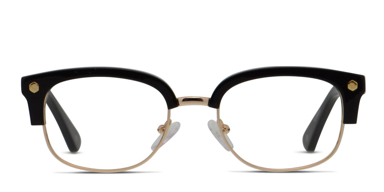 GlassesUSA Muse Elliot Kids frames in black and gold, blue light glasses for kids