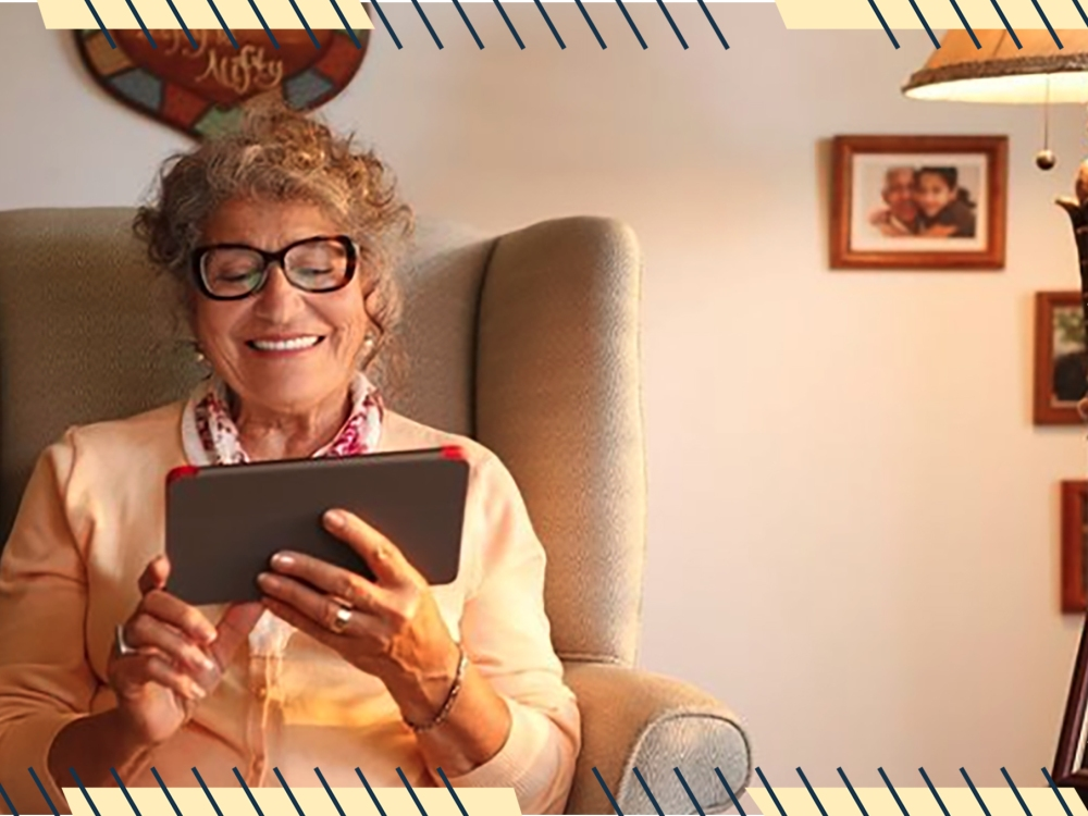 Keep Grandma and Granpda Close with the GrandPad Tablet Designed for Seniors