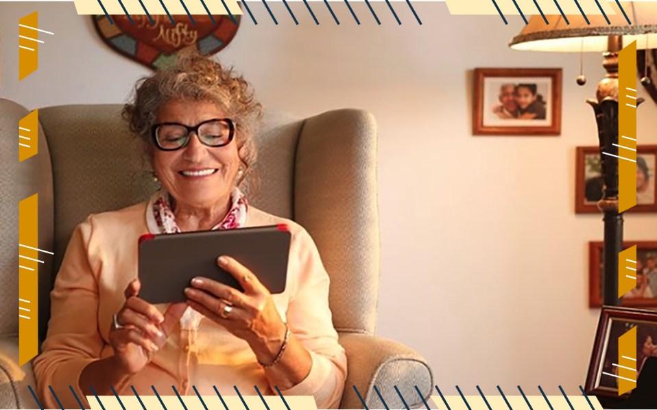 GrandPad tablet for seniors