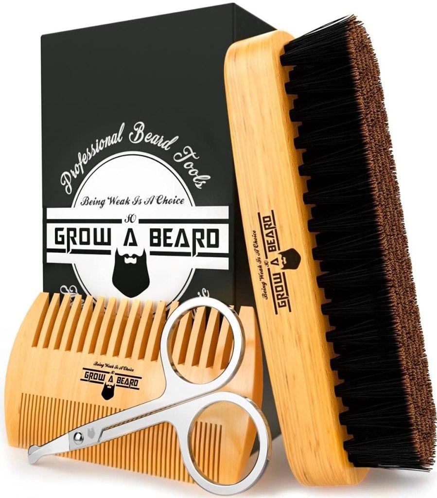 Grow Alpha Beard Grooming Kit