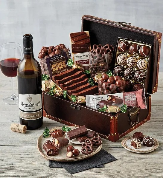 Chocolate Treasure Box by Harry and David