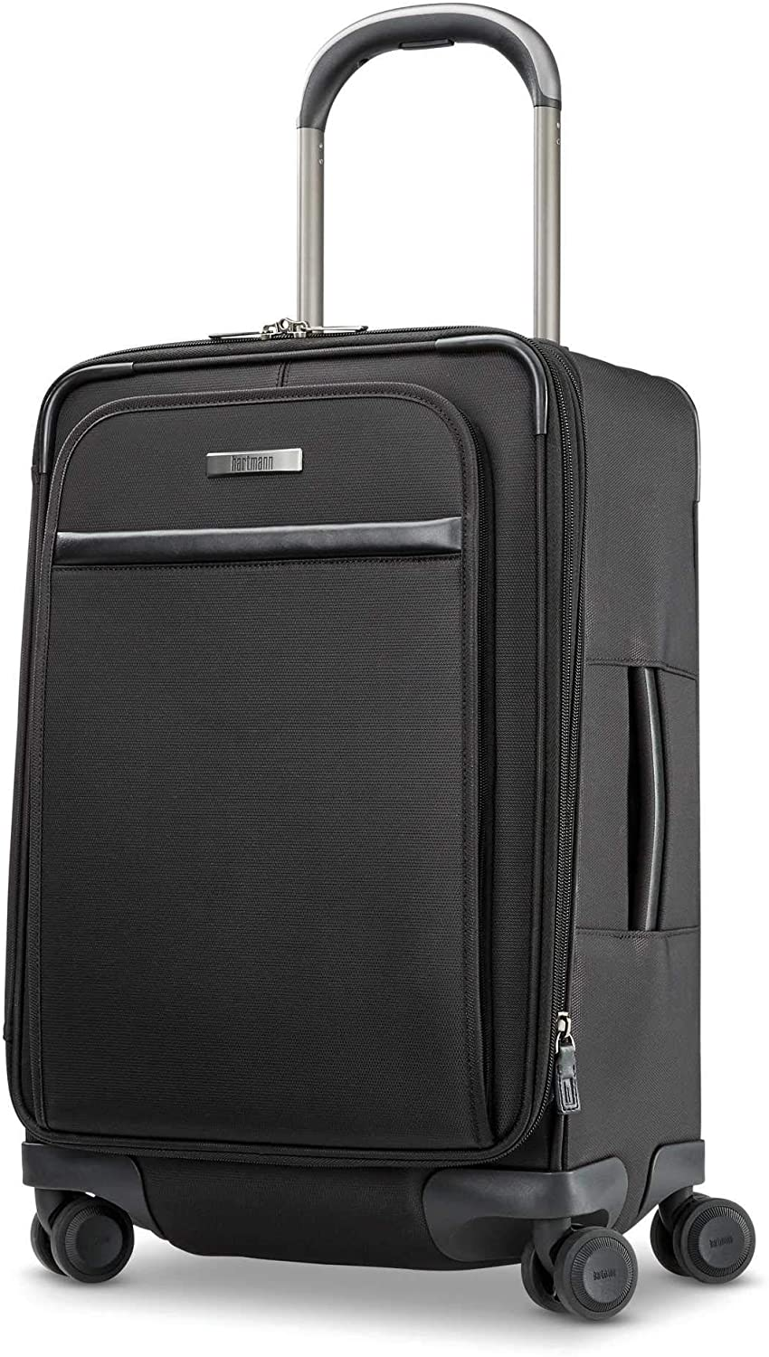 Hartmann Global Carry-On Rolling Suitcase in black