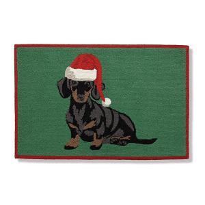 holidays dogs door mat