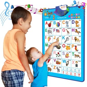 just smarty electronic interactive wall chart