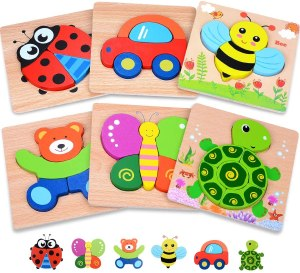 magfire wooden toddler puzzles