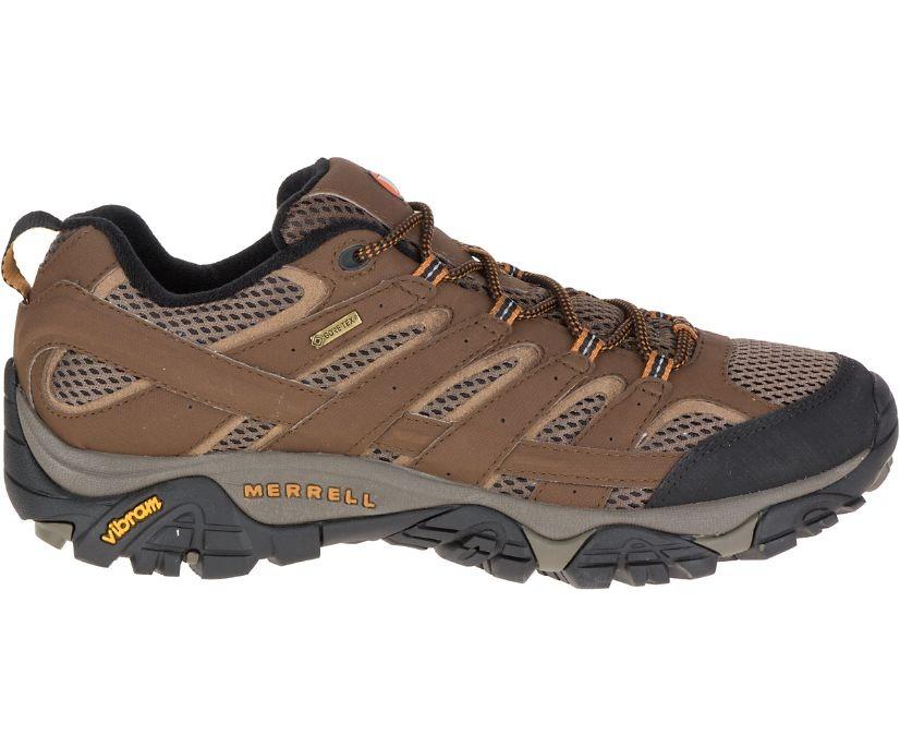 Merrell-Moab-2-Gore-Tex brown shoe