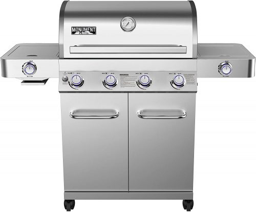 Monument Grills 2467 Stainless Steel Gas Grill