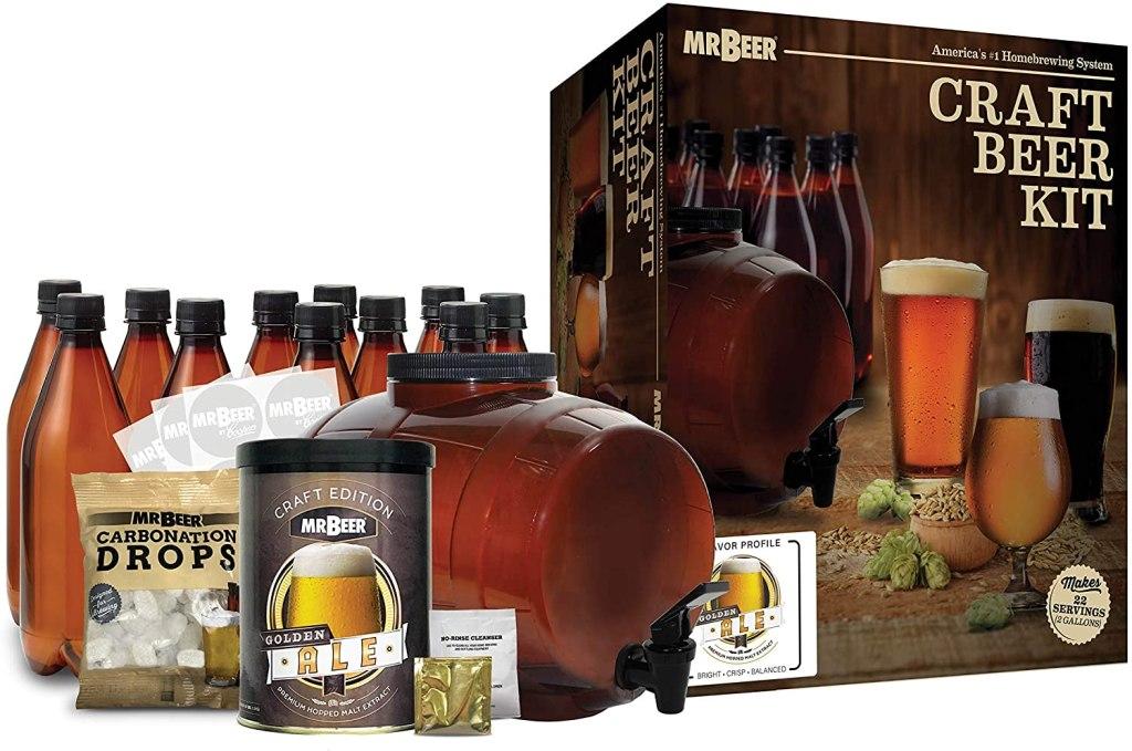 beer making kits mr beer complete beer