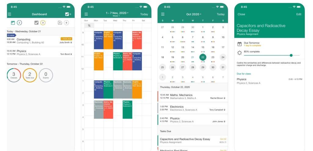 My Study Life app - best calendar apps for 2021