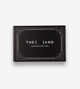 {THE AND} Couples Edition card game