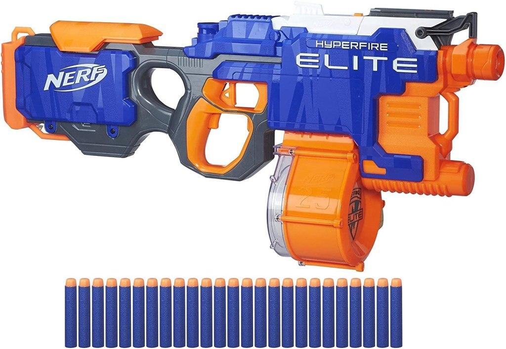 nerf n strike fire blaster hyper