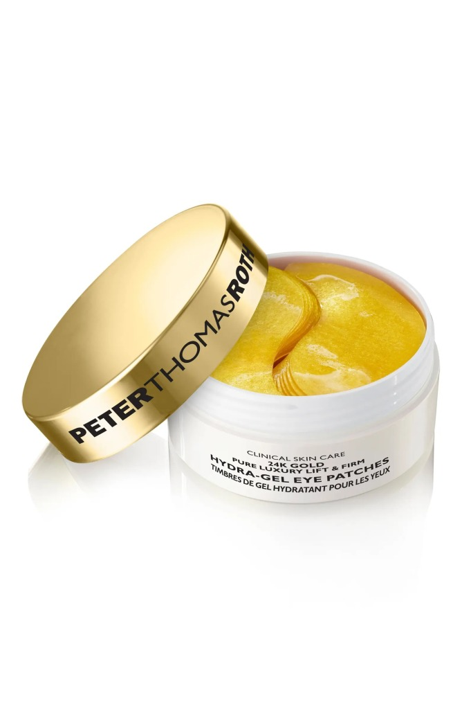 24K Gold Lift & Firm Hydra-Gel Under Eye Patches by Peter Roth Thomas