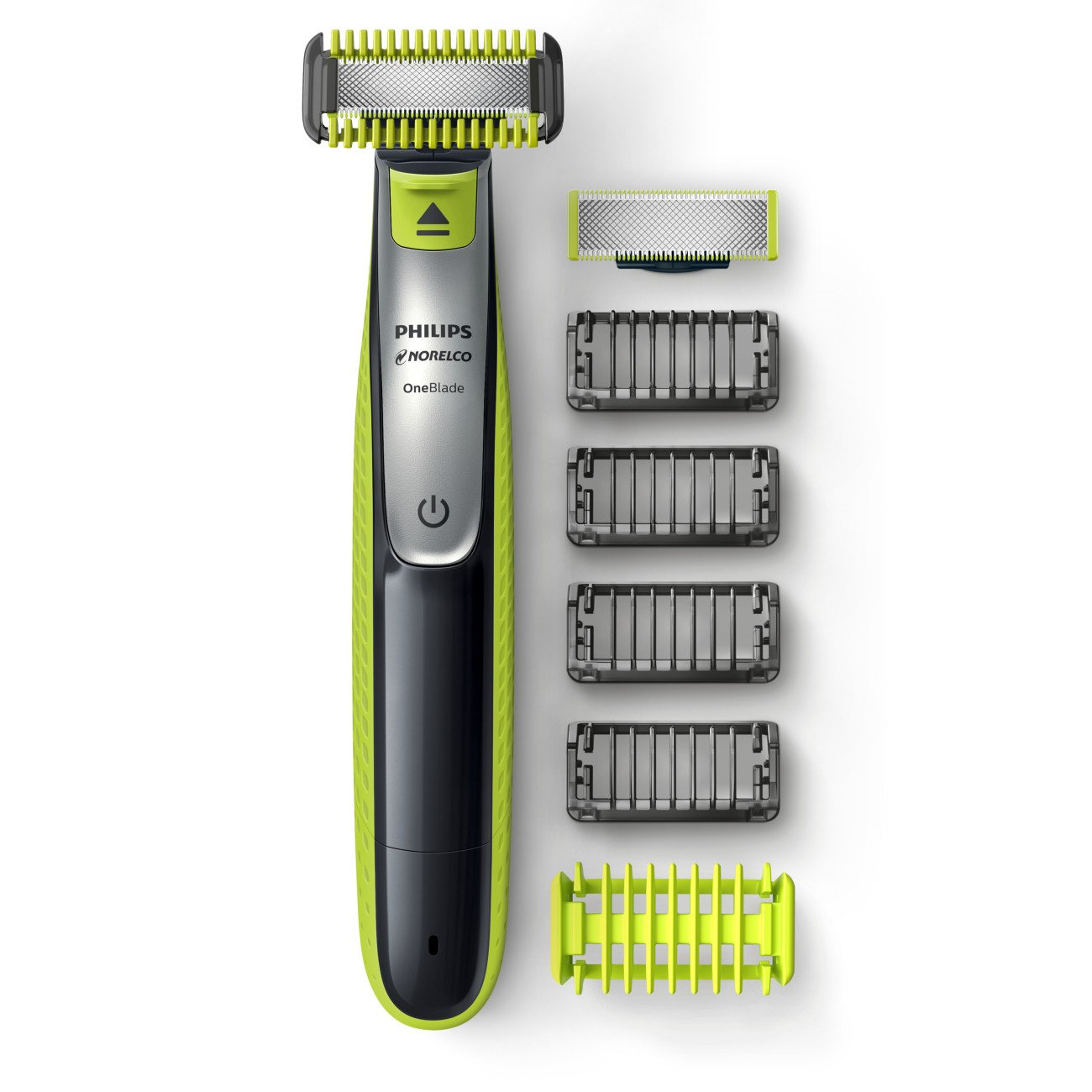 Philips Norelco OneBlade Face + Body Hybrid Electric Trimmer and Shaver, best body groomers