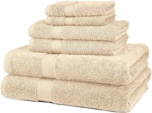 best towel sets pinzon blended egyptian cotton