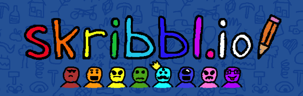 Skribbl game, games to play on zoom