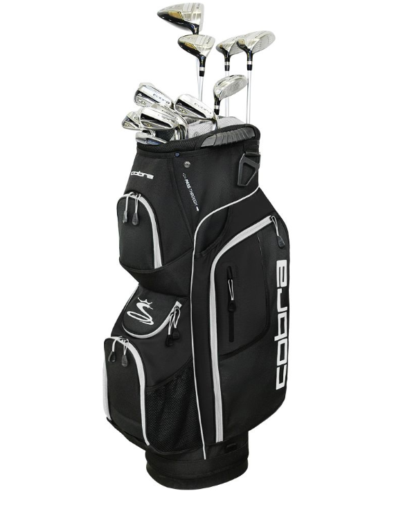 Cobra Men's XL Speed 13-Piece Complete Set, 7 Of the Best Golf Clubs for Beginners