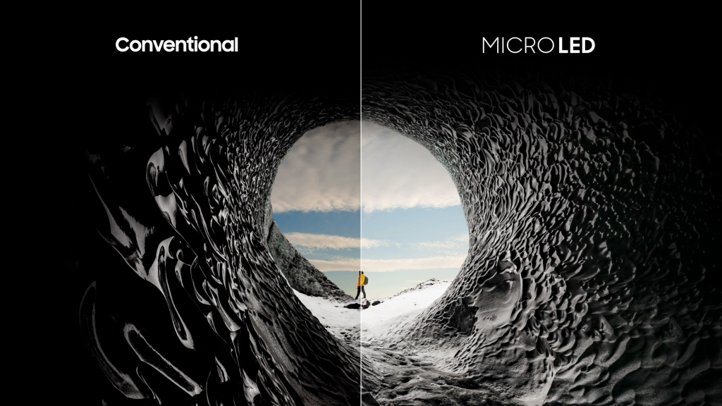 MicroLED Samsung The Wall