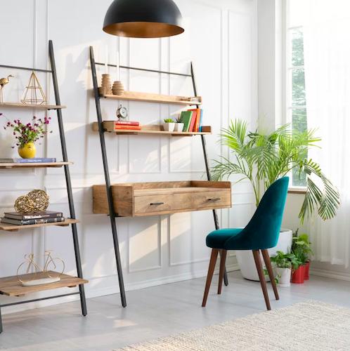 AllModern Innes Solid Wood Leaning/Ladder Desk