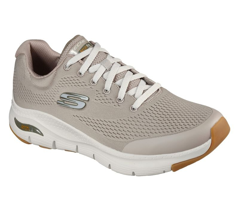 Skechers-Arch-Fit-Shoe in beige