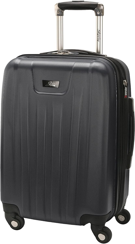 Black Skyway Nimbus 2.0 Hardside Expandable Spinner Rolling Suitcase