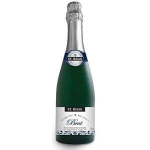 St. Regis sparkling brut, non-alcoholic wine