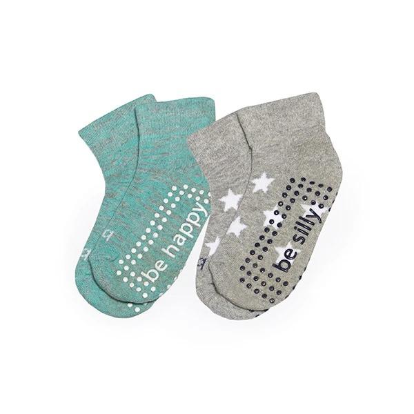 Sticky-Be-Socks-Toddler-Two-Pack-Grip-Socks