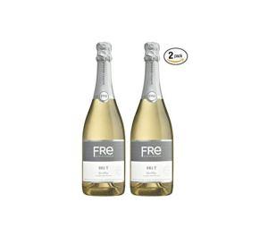 sutter home fre champagne wine, non-alcoholic wine