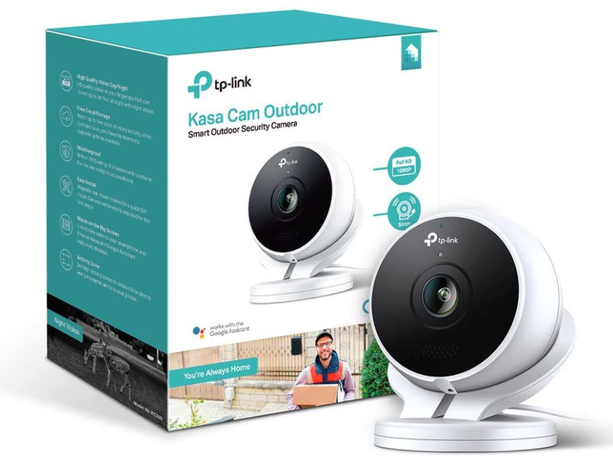 TP-Link Kasa Smart Outdoor Camera for home security