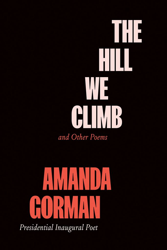 The Hill We Climb and Other Poems Book by Amanda Gorman, best poetry book